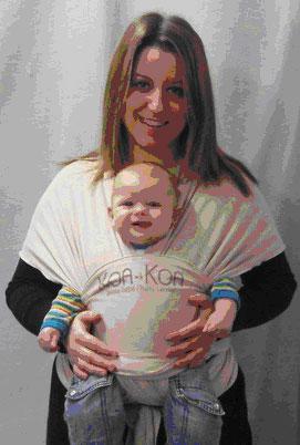 Porte-bébé écharpe extensible Koa Koa (6 mètres)