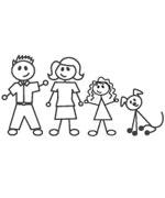 Autocollants Family Sticker